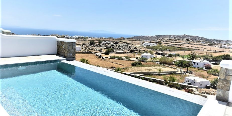 VIEW FROM LUXURYS VILLA POOL